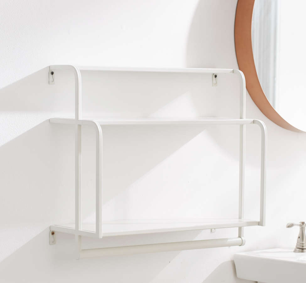 Slide View: 2: Cameron Bathroom Shelf