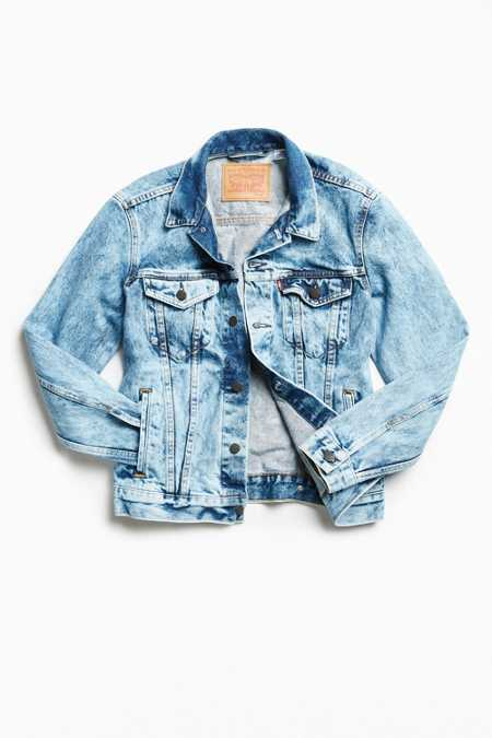 Levi's Cloud Wash Denim Trucker Jacket