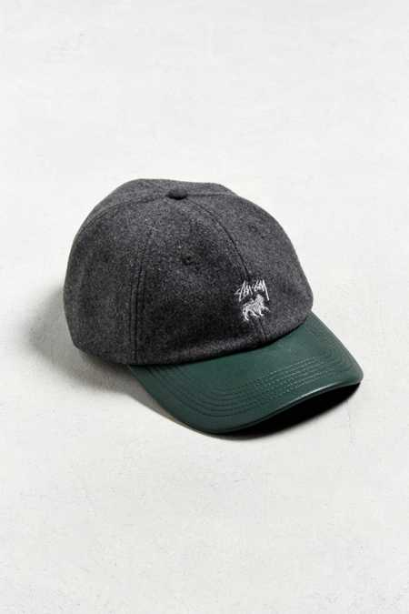 Stussy Leather Visor Lo Pro Baseball Hat