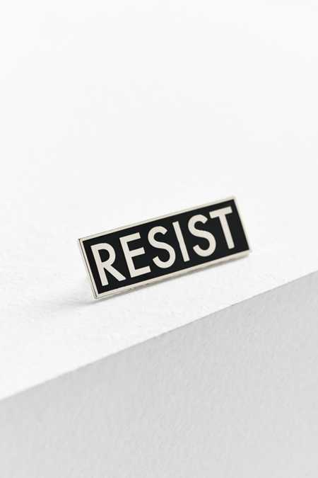 Yesterdays X UO Resist Pin