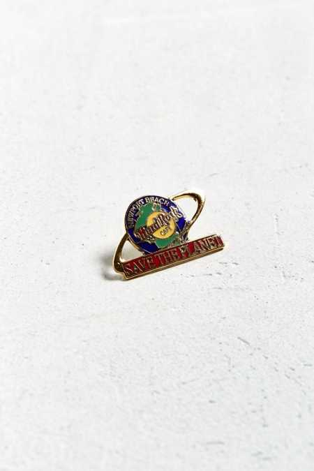 Vintage Hard Rock Cafe Save The Planet Pin