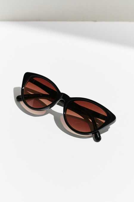 Slim Retro Cat-Eye Sunglasses