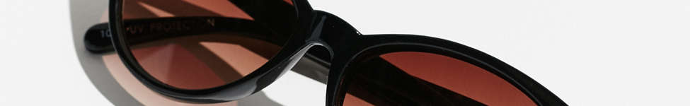 Thumbnail View 1: Slim Retro Cat-Eye Sunglasses