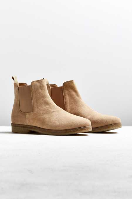 UO Double Crepe Suede Chelsea Boot