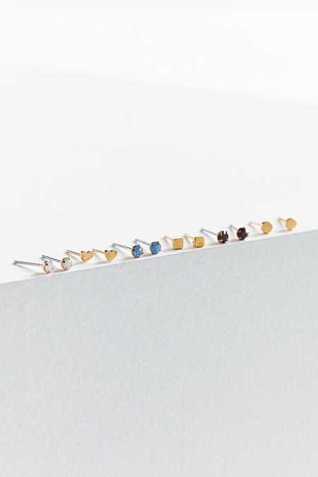 Micro-Mini Post Earring Set