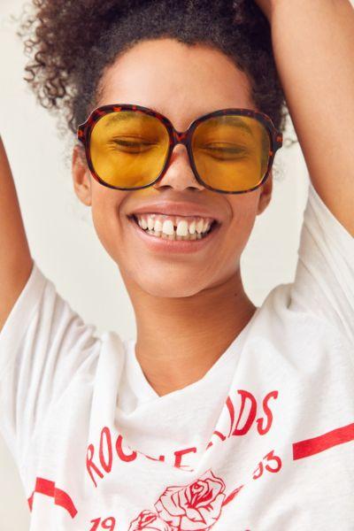 1969 Oversized Round Sunglasses