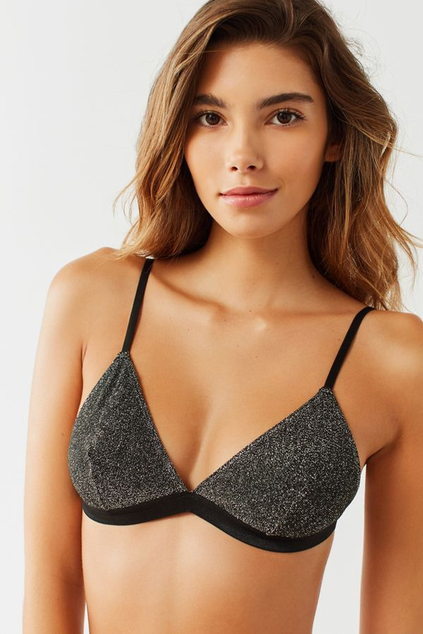 Slide View: 1: Out From Under Izzy Sparkle Triangle Bra