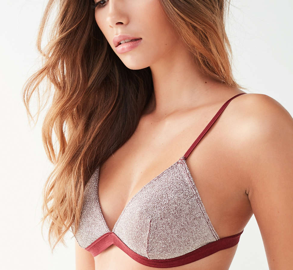 Slide View: 4: Out From Under Izzy Sparkle Triangle Bra