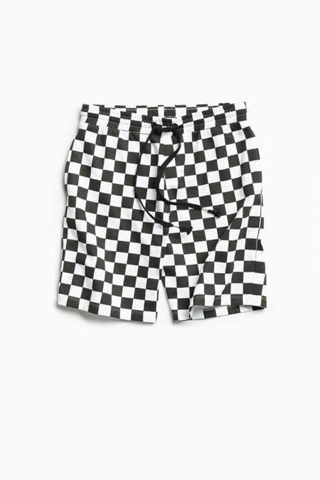 UO Checkerboard Knit Short
