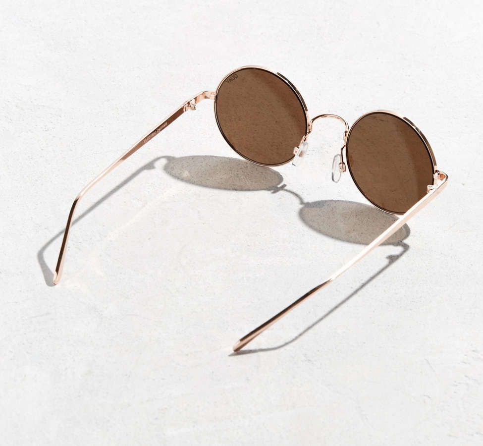 Slide View: 4: Quay Electric Dreams Round Sunglasses
