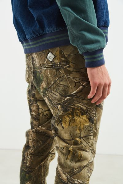 FairPlay Real Tree Camo Ryder Sweatpant - Assorted S at Urban Outfitters