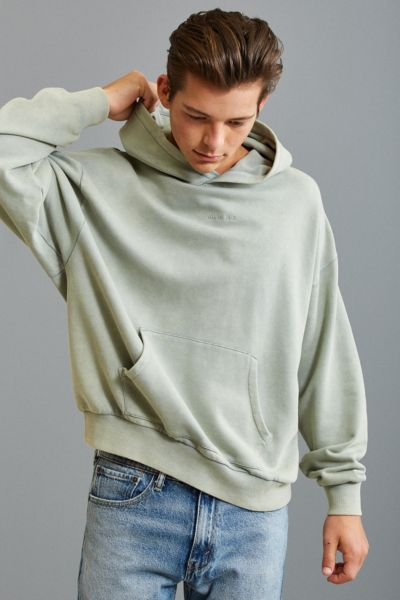 FairPlay Howell Hoodie Sweatshirt - Green S at Urban Outfitters