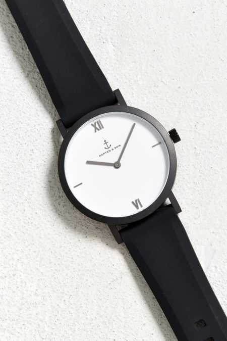 Kapten & Son Pure Black Watch