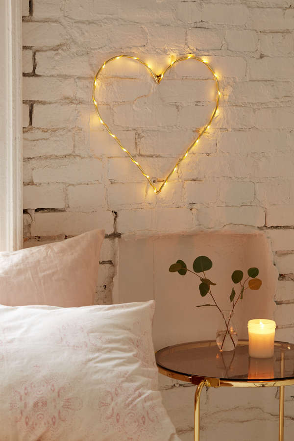 Heart Light Sculpture