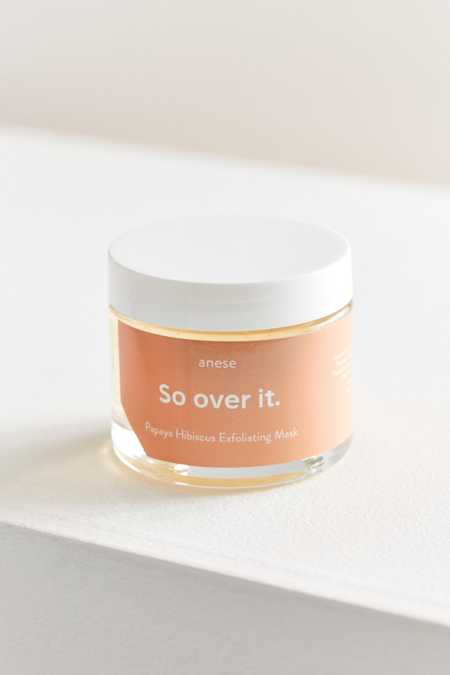 Anese So Over It Papaya Hibiscus Exfoliating Mask