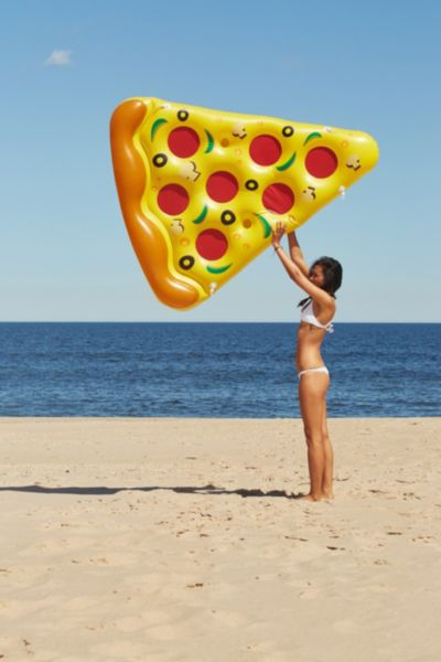 Pizza Slice Pool Float - Yellow One Size at Urban Outfitters