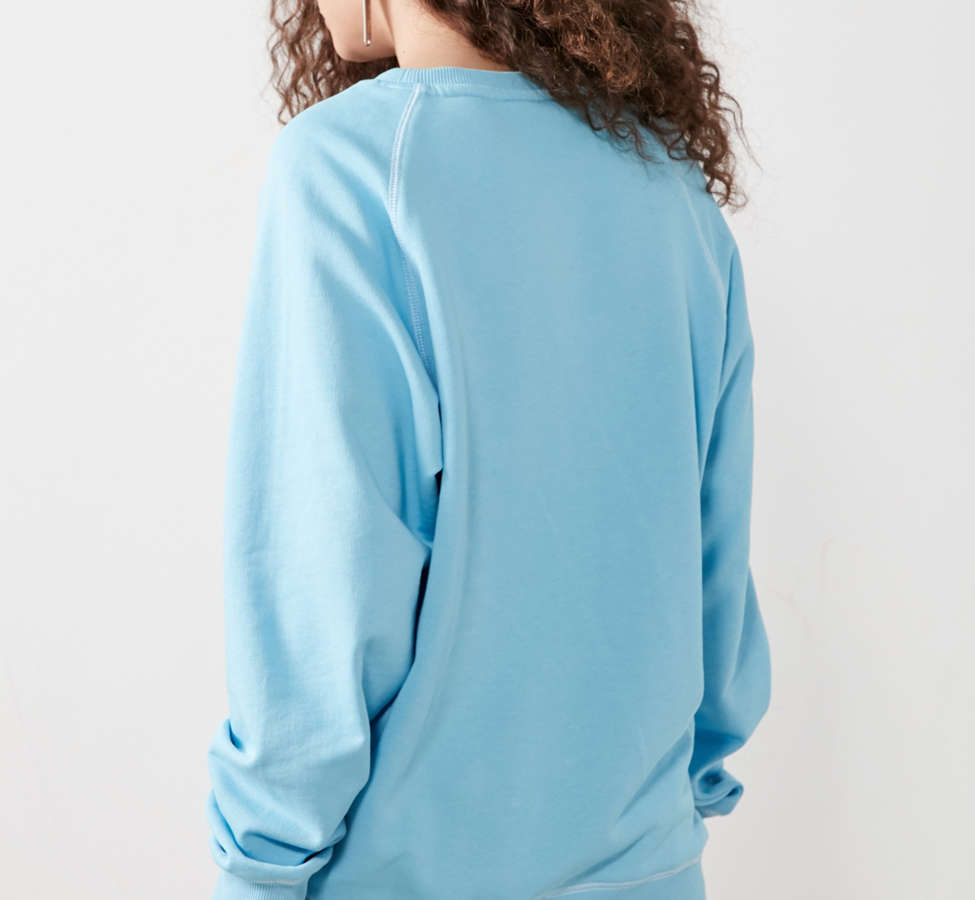 Slide View: 3: Umbro X UO Classic Logo Crew-Neck Sweatshirt
