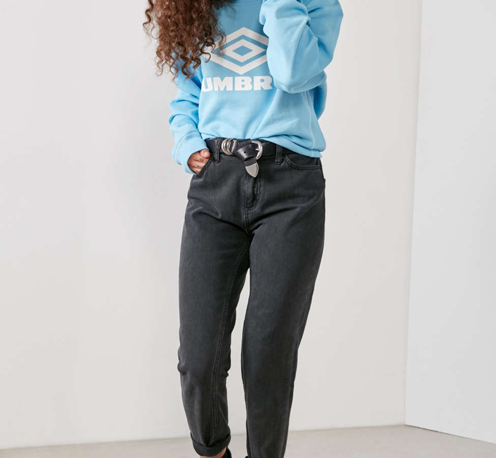 Slide View: 4: Umbro X UO Classic Logo Crew-Neck Sweatshirt