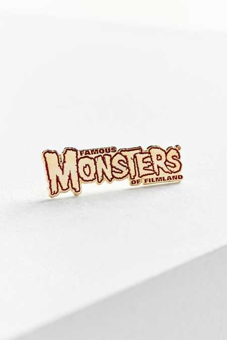 Yesterdays Famous Monsters Of Filmland Pin