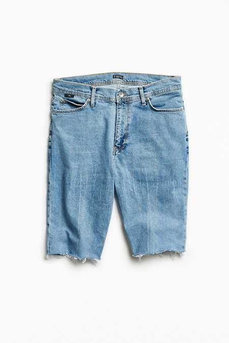 BDG Cutoff Denim Skate Short