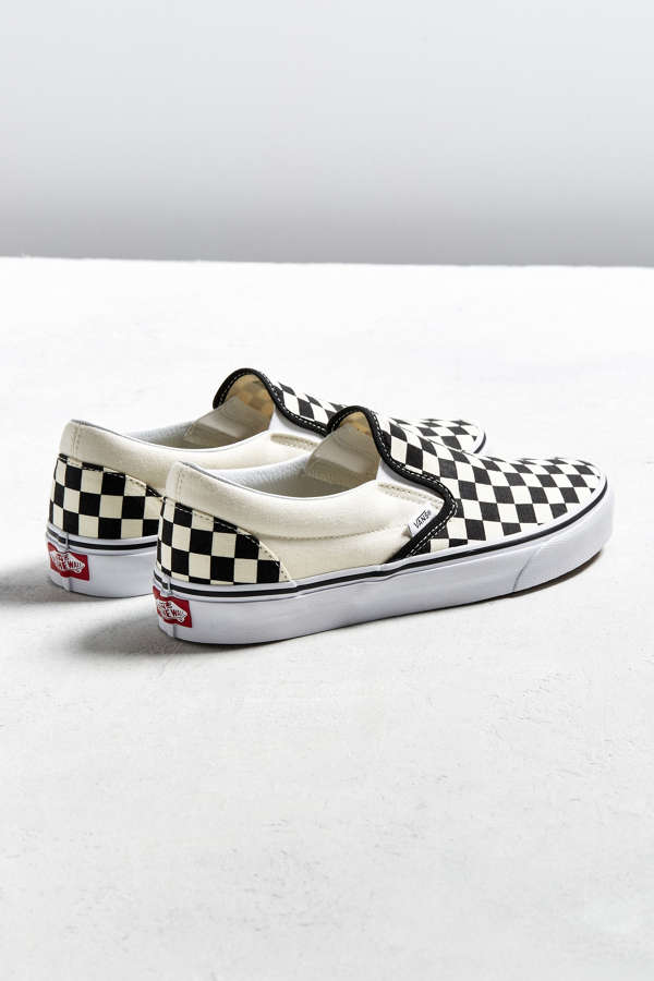 Vans Classic Checkerboard Slip On Sneaker Urban Outfitters