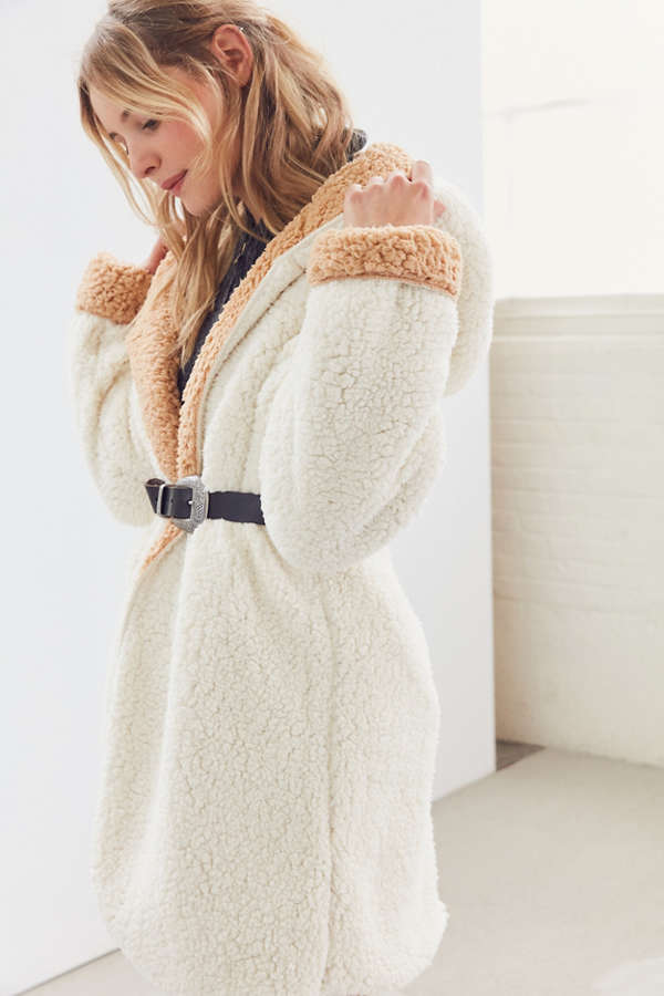 Cozy reversible coat