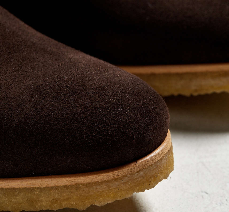 Slide View: 3: Shoe the Bear Suede Double Crepe Chelsea Boot