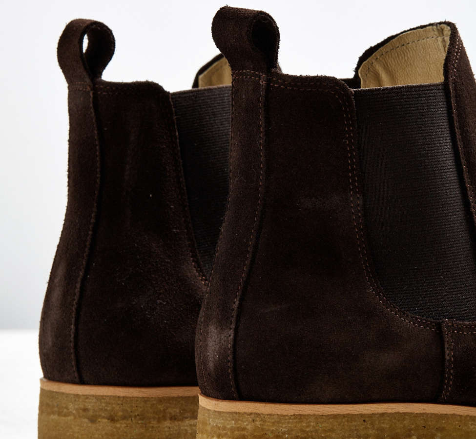 Slide View: 5: Shoe the Bear Suede Double Crepe Chelsea Boot