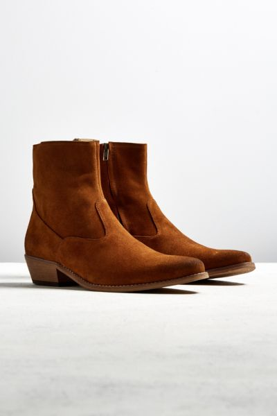 Shoe the Bear Enzo Suede Boot - Brown 41 EURO at Urban Outfitters
