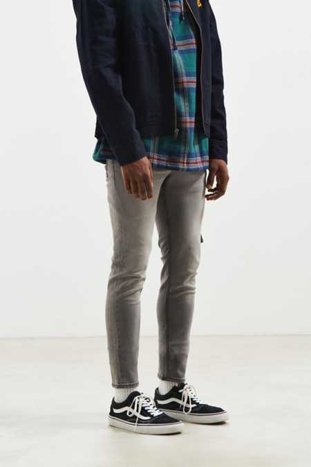 Cheap Monday Tight Stellar Grey Skinny Jean