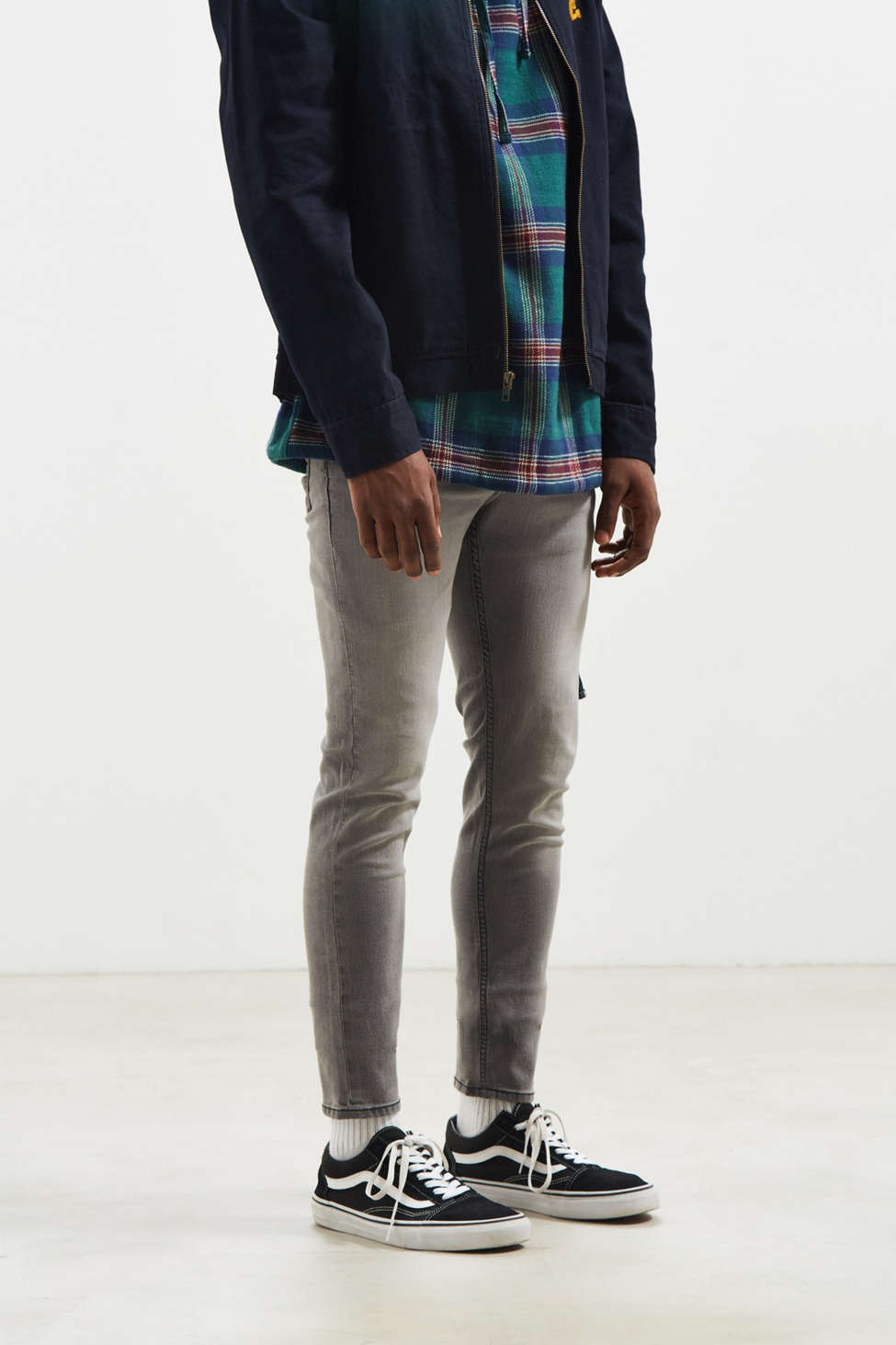 Cheap Monday Tight Stellar Grey Skinny Jean | Urban Outfitters