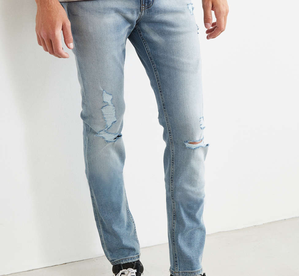 Slide View: 1: Cheap Monday Tight Future Blue Skinny Jean