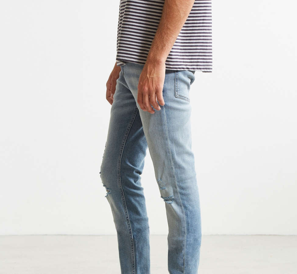 Slide View: 3: Cheap Monday Tight Future Blue Skinny Jean