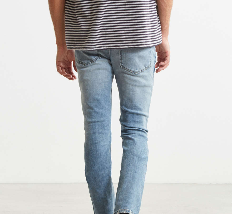 Slide View: 4: Cheap Monday Tight Future Blue Skinny Jean