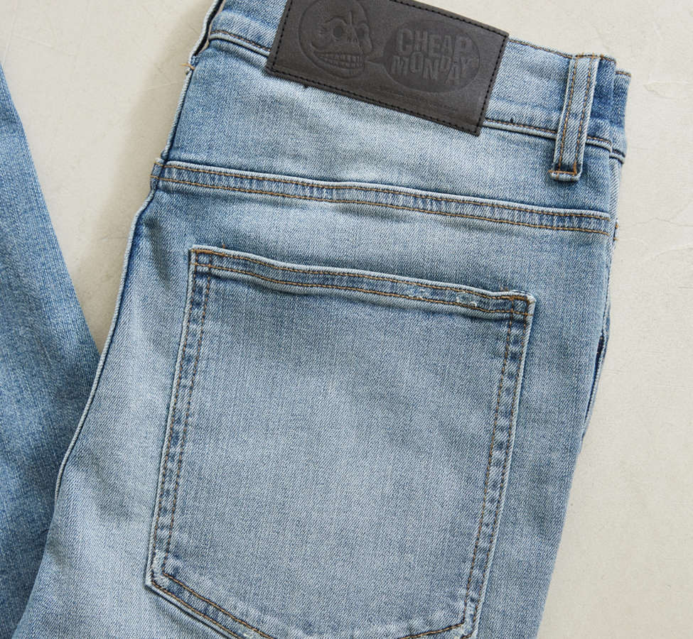 Slide View: 5: Cheap Monday Tight Future Blue Skinny Jean