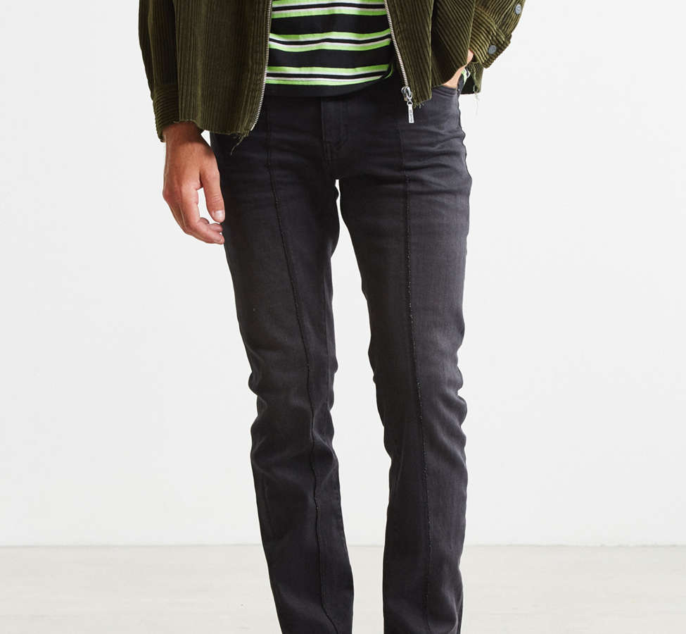 Slide View: 1: Cheap Monday Tight Twisted Black Pieced Skinny Jean