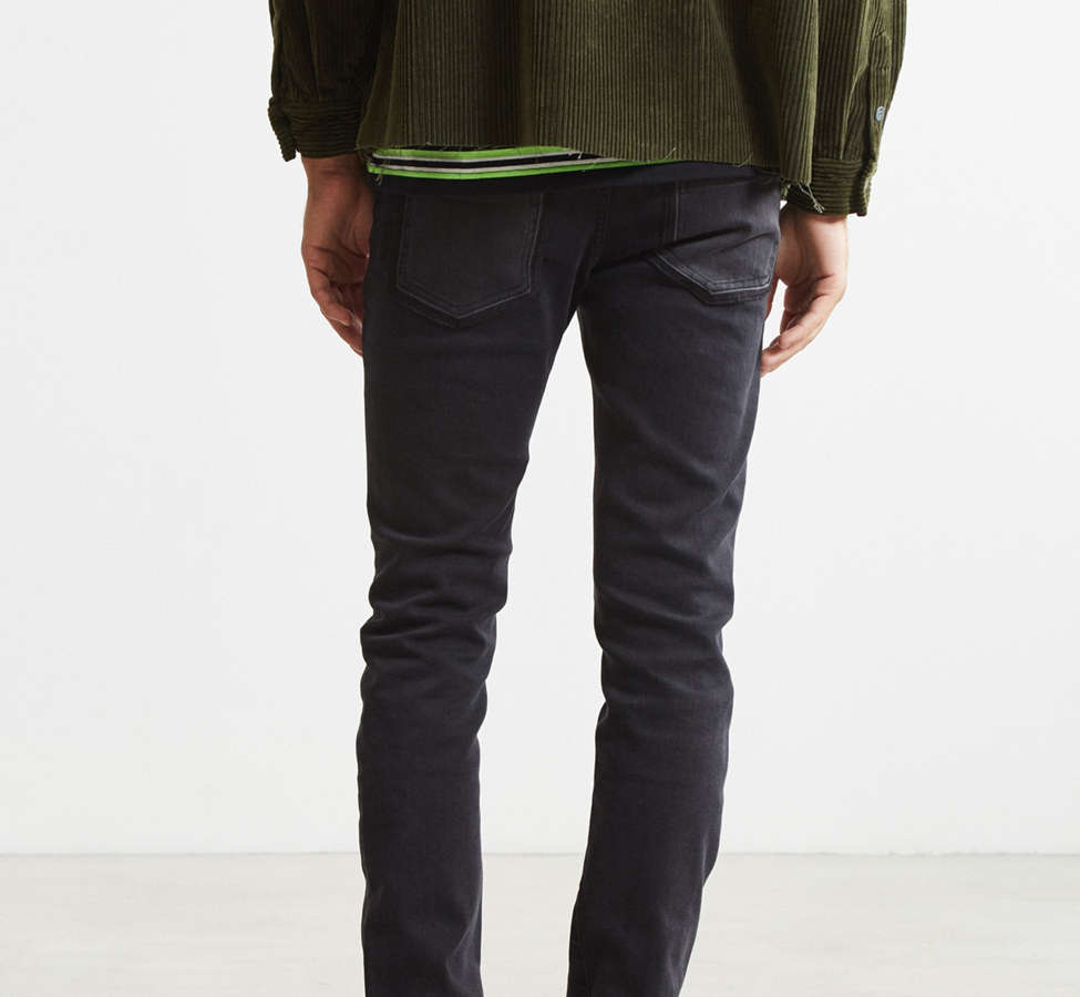 Slide View: 4: Cheap Monday Tight Twisted Black Pieced Skinny Jean