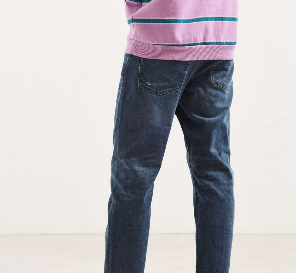 Slide View: 4: Cheap Monday In Law Daily Blue Tapered Jean