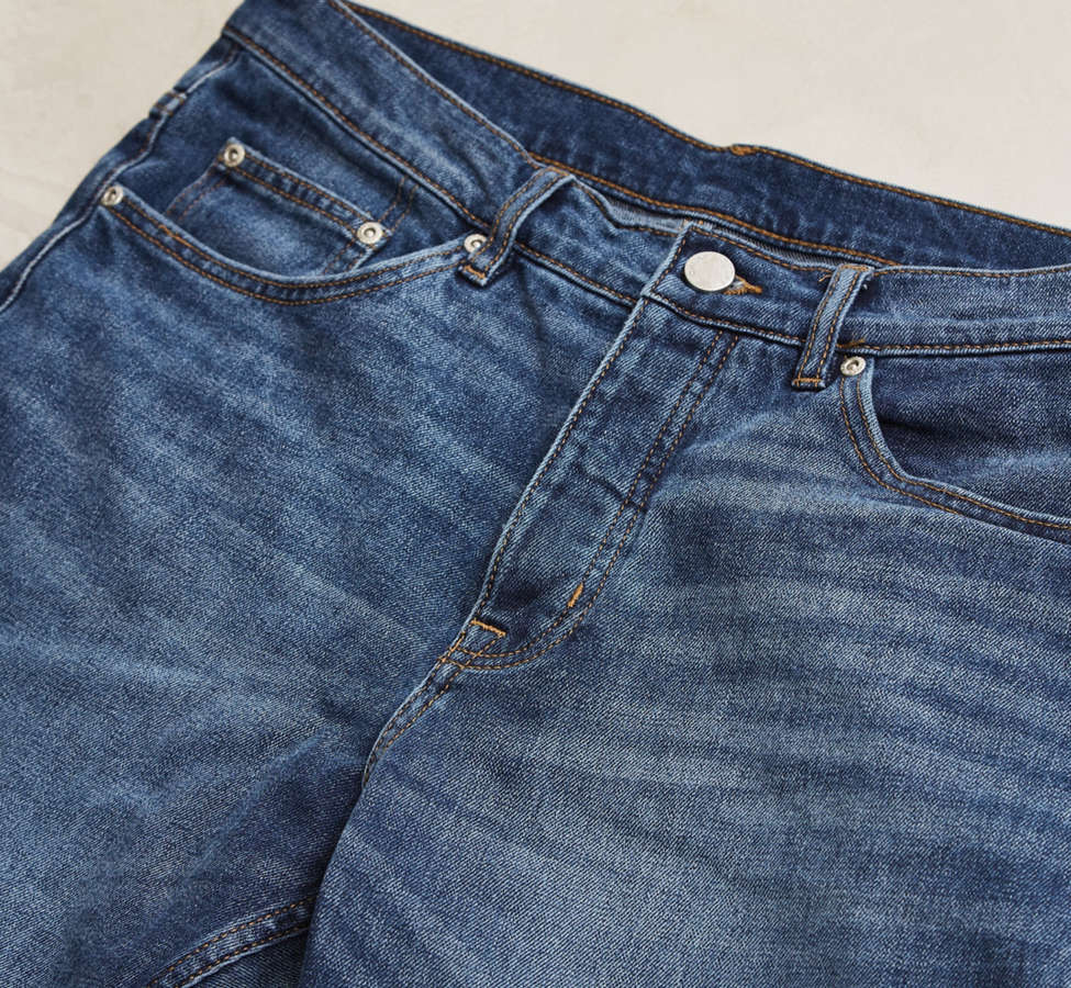 Slide View: 5: Cheap Monday In Law Daily Blue Tapered Jean