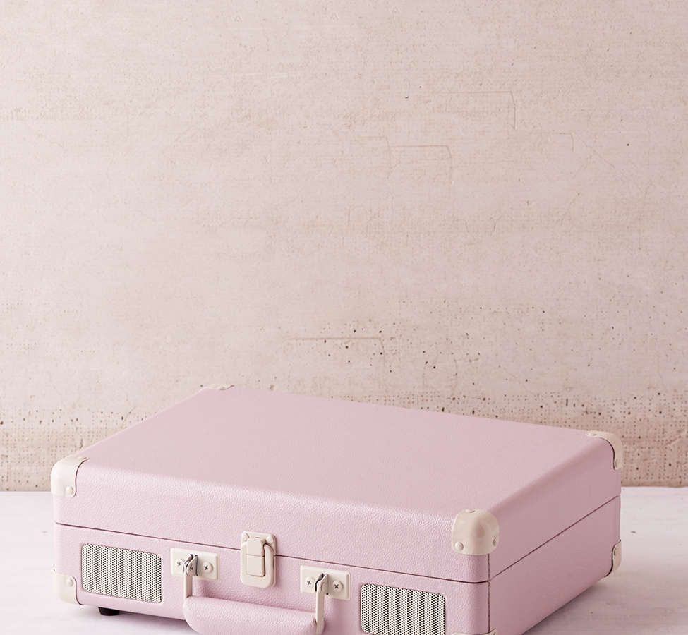 Slide View: 2: Crosley Lilac Cruiser Bluetooth Record Player