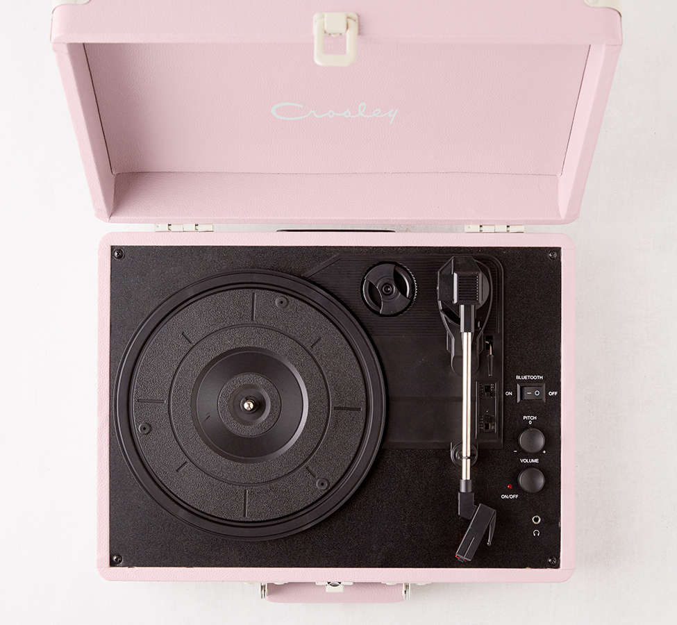 Slide View: 3: Crosley Lilac Cruiser Bluetooth Record Player