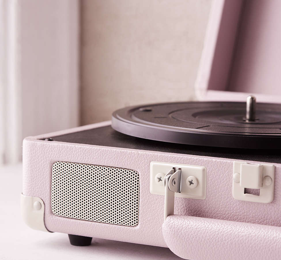 Slide View: 5: Crosley Lilac Cruiser Bluetooth Record Player