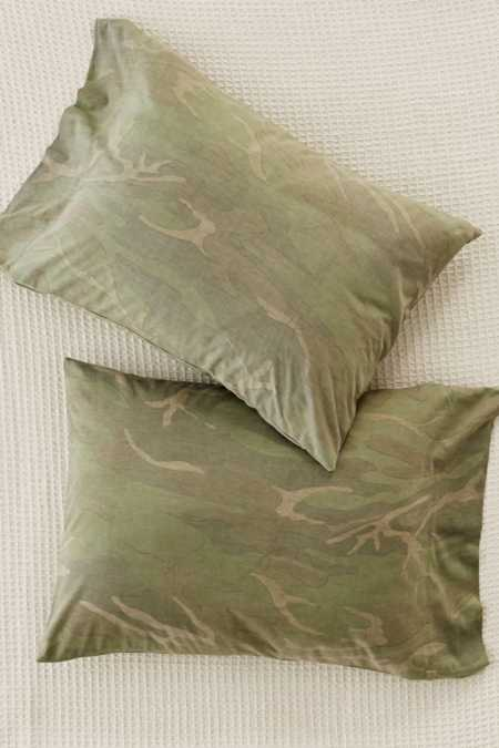 Camo Jersey Pillowcase Set