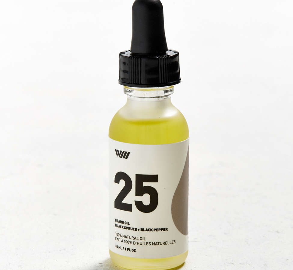 Slide View: 1: WILL 25 Black Spruce + Black Pepper Beard Oil