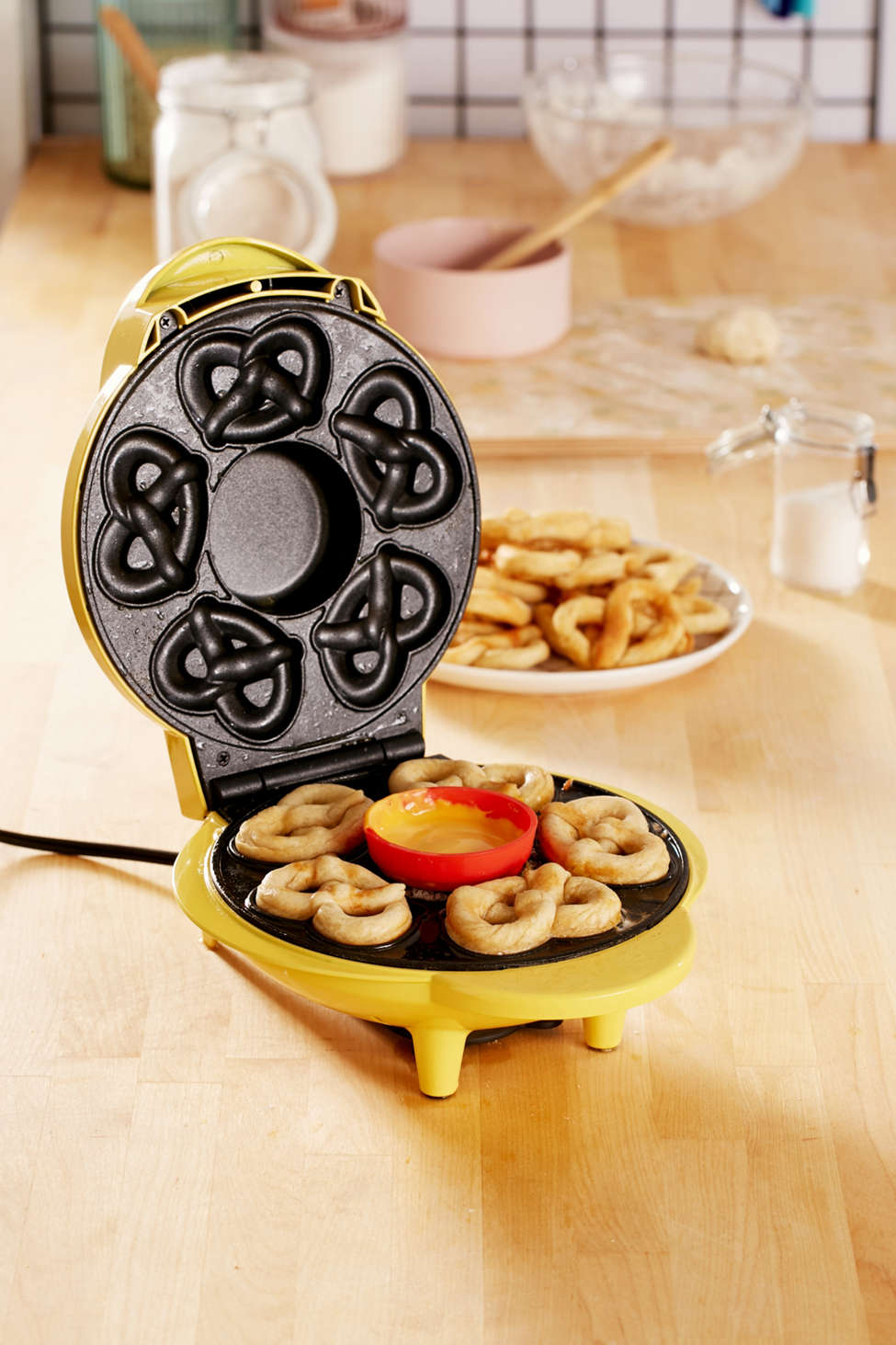 Slide View: 1: SuperPretzel Mini Soft Pretzel Maker