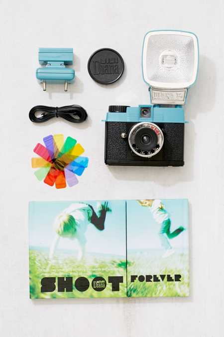 Lomography Diana Mini F+ Film Camera Set