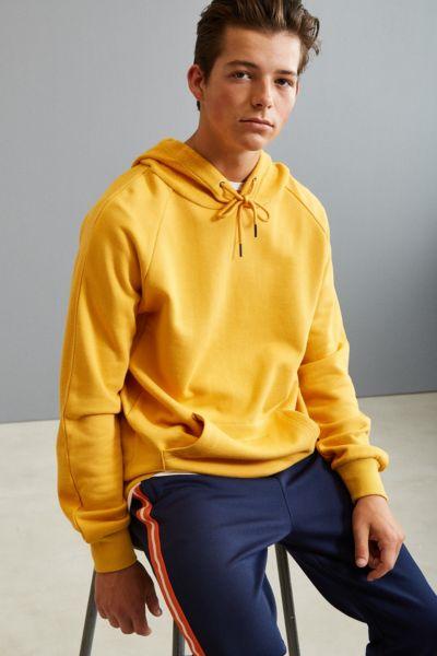Publish Bowen Hoodie Sweatshirt - Mustard S at Urban Outfitters