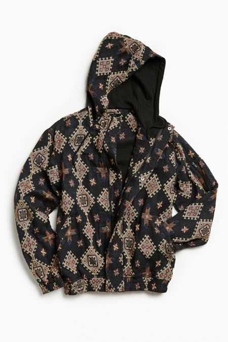 Publish Majid Embroidered Hooded Jacket