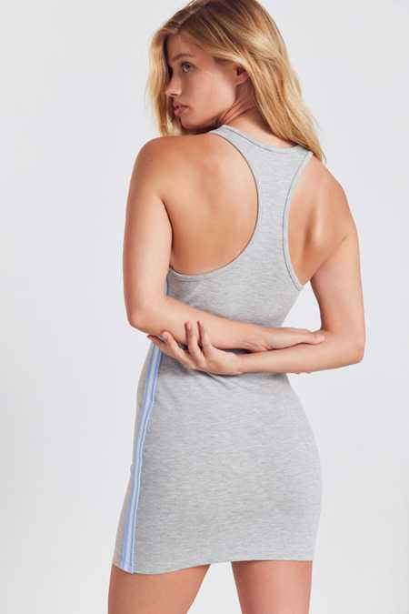 Silence + Noise Athletic Tape Striped Bodycon Dress