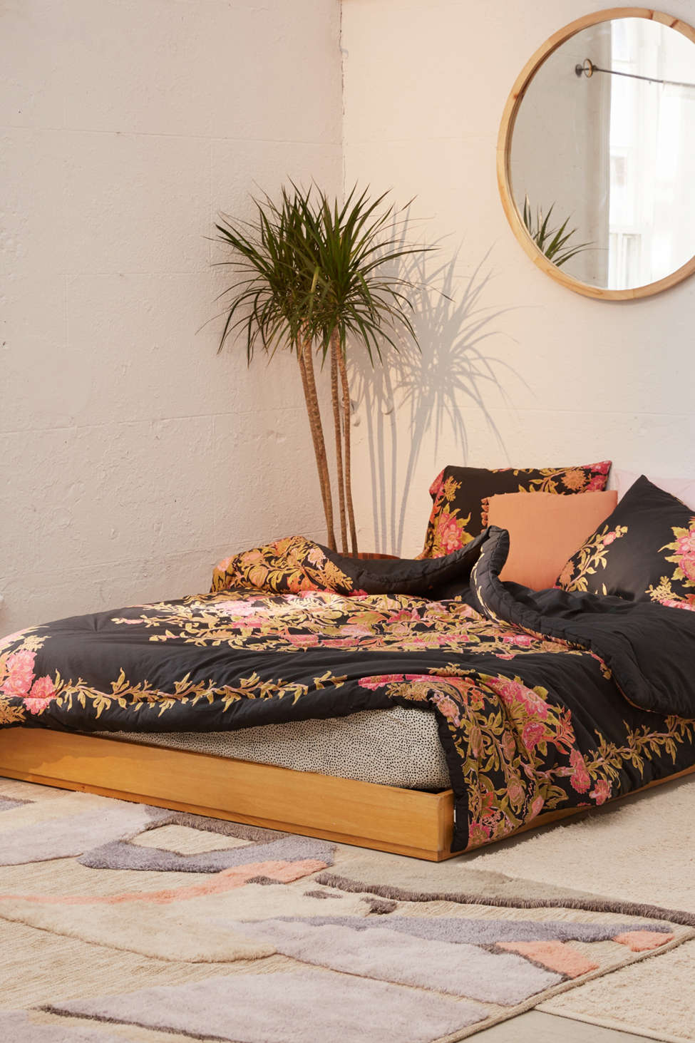 Slide View: 2: Analise Floral Medallion Comforter Snooze Set
